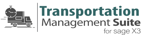Transportation Management for Sage Enterprise (x3) Logo